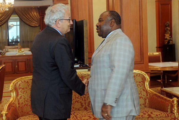 Jean François DESMAZIERES fait ses adieux à Ali Bongo Ondimba
