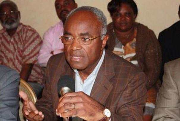 L'ancien Premier ministre Jean Eyeghé Ndong