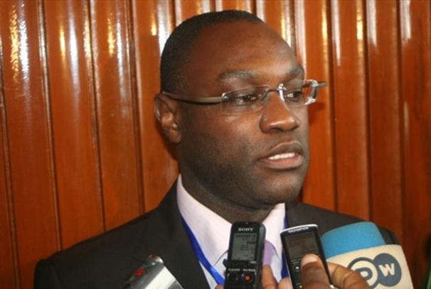 Patrick Mboma à Libreville