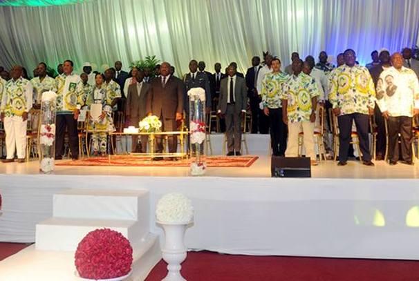 5ème anniversaire de pouvoir d'Ali Bongo Ondimba