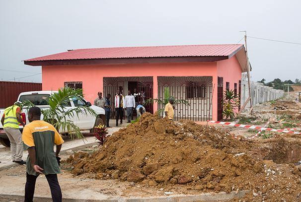 Logements sociaux à Bikélé