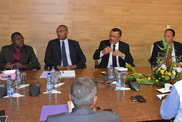 Rencontre CNAMGS, assureurs et prestataires médicaux (photo autre presse par DR)