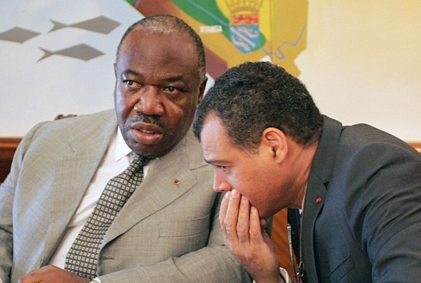 Ali Bongo Ondimba et Massard Kabinda