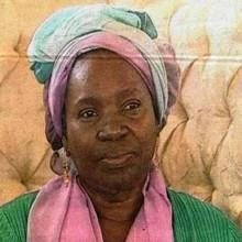 Pascaline Bongo Ondimba pendant l'interview