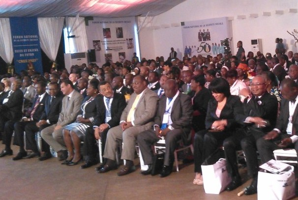 ouverture du forum national sur la sécurité sociale au Gabon
