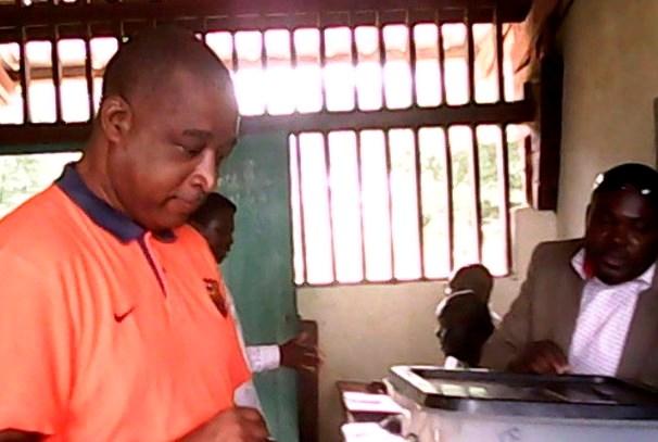 Etienne Dieudonné Ngoubou, conseiller municipal de Mayumba