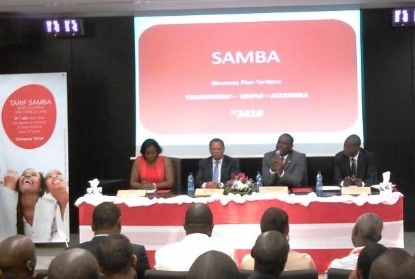 Lancement de l'offre Samba