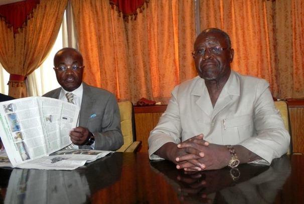 Jean Eyeghé Ndong et Luc Bengone Nsi