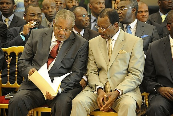 Séraphin Ndaot et Davin Akouré