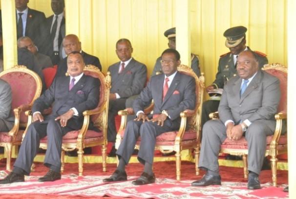 Trois Chefs d'Etat de la CEEAC