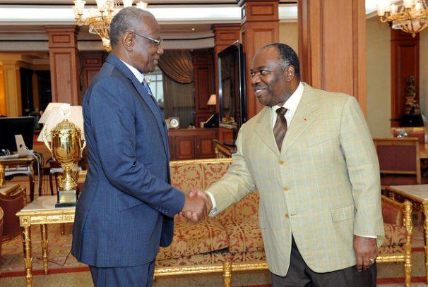 Ali Bongo Ondimba et Abdoulaye Bathily