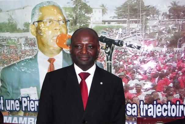 Bruno Ben Moubamba, Secrétaire Général de l'UPG