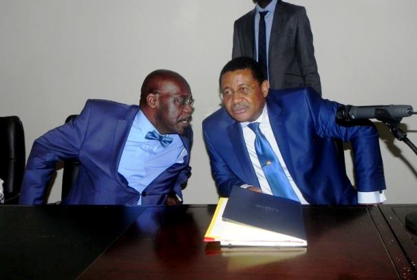 Daniel Ona Ondo et Owono Nguema