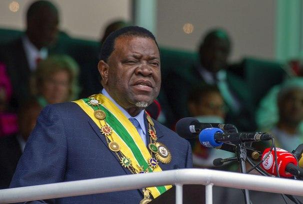 Hage G. GEINGOB, le nouveau Président Namibien