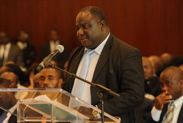 Jean Remy Yama, Président du SNEC et Porte parole de la Dynamique unitaire