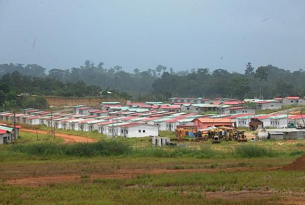 une vue de quelques logements construits