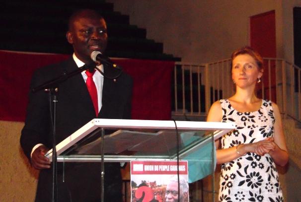 Bruno Ben Moubamba, nouveau Président de l'UPG
