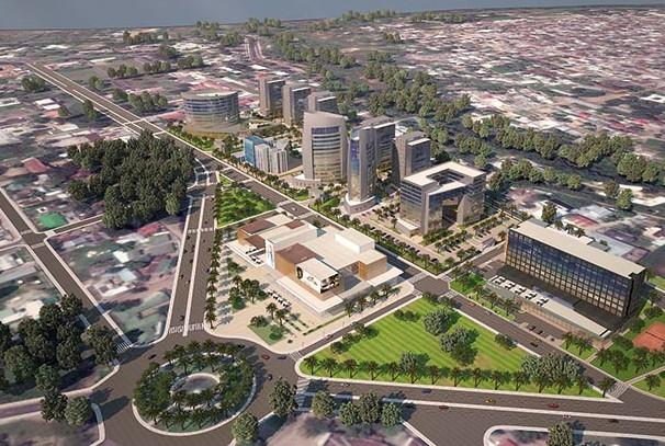 La cité administrative de Brazzaville