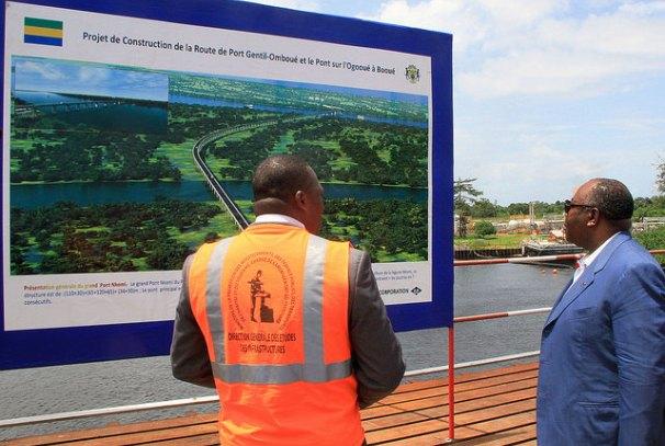 Projet de construction de la route Port-Gentil - Omboué