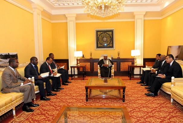 Réunion de haute sécurité au palais présidentiel