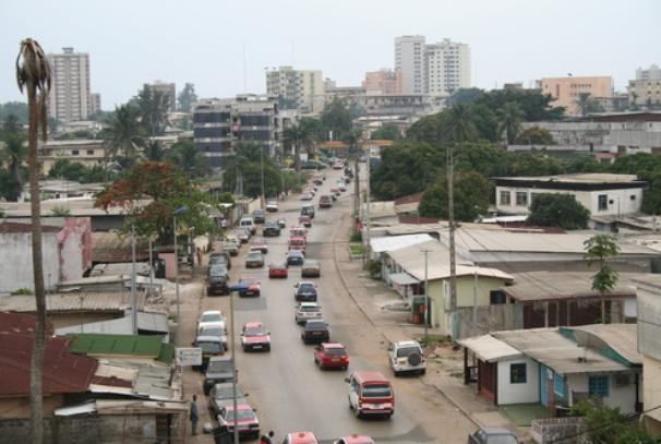 Un quartier de Libreville