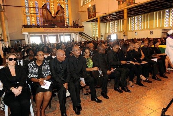 office religieux en hommage à Rose Francine Rogombé