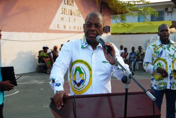 Alexandre Barro Chambrier, député du 4ème arrondissement de Libreville