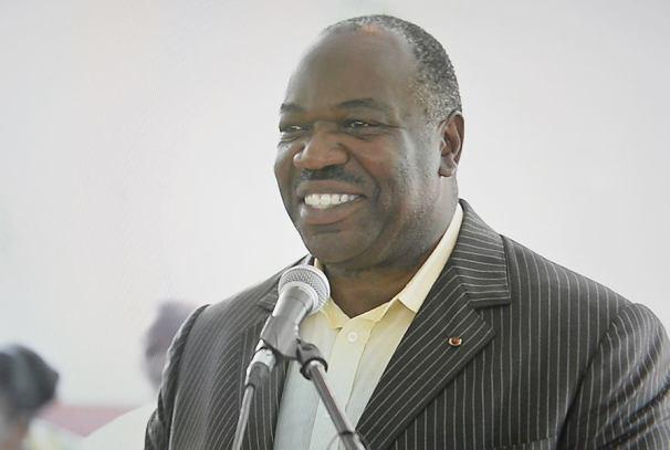 Ali Bongo Ondimba s'adresse aux jeunes (photo d'archives)