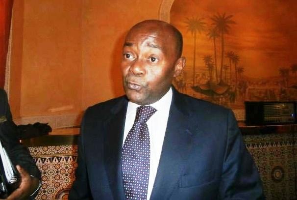 Pacôme Moubelet Boubeya contre le terrorisme