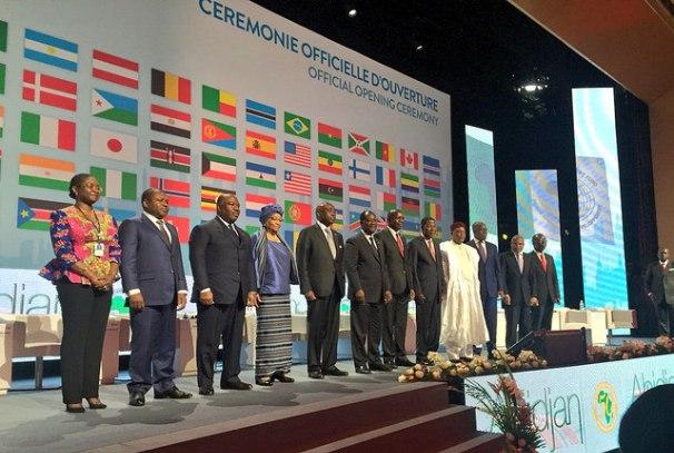 cérémonie d'ouverture de l'assemblée générale de la BAD