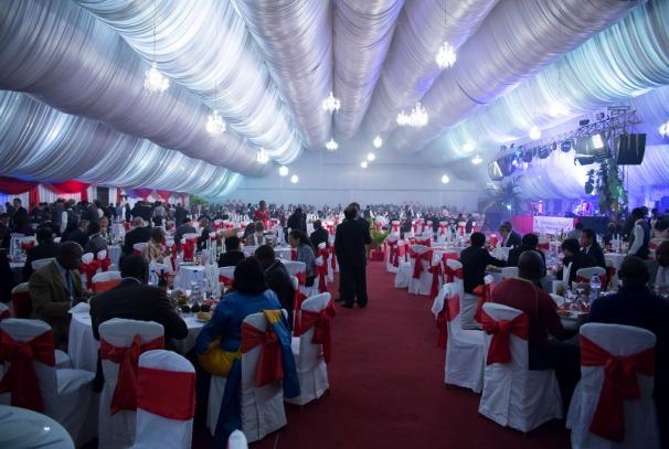Diner Gala offert par Airtel à Libreville