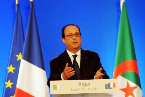 François Hollande à Alger