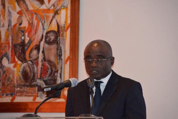 Jean Baptiste Bikalou, Président de la Chambre de Commerce