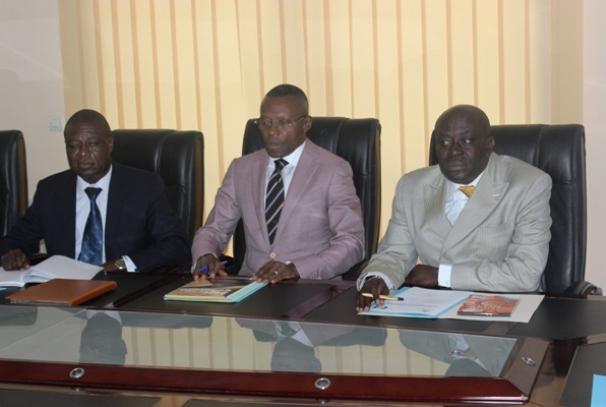 Les membres du bureau de la CENAP
