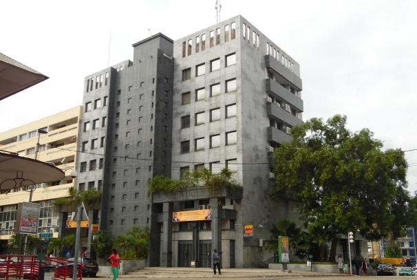 Siège social de l'UGB à Libreville
