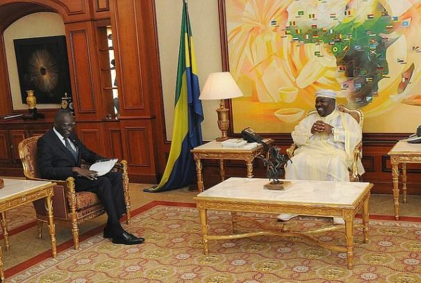 Ali Bongo Ondimba a reçu Babacar Gaye