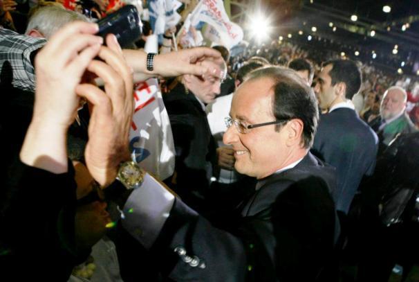 François Hollande au Bourget (photo d'illustration)