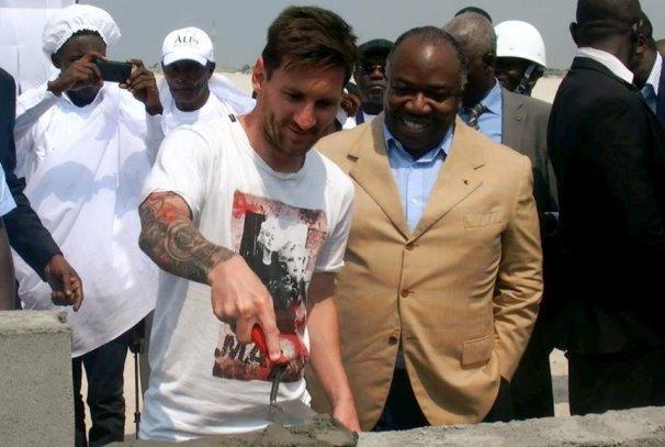 Lionel Messi en Guest star au Gabon