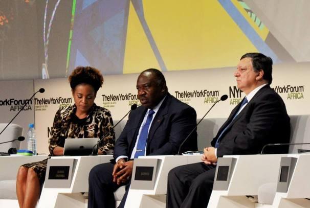 Ali Bongo Ondimba intervient au NYFA