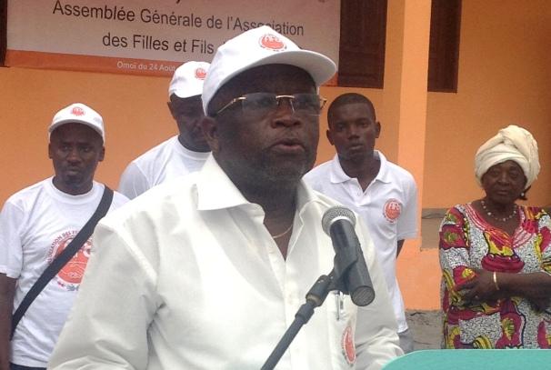 Alfred Nguia Banda, parain d'AFO