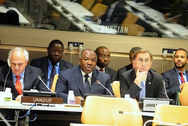 Ali Bongo Ondimba au sommet sur le développement durable à New York