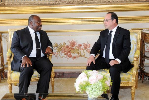 Tête à tête entre Ali Bongo Ondimba et François Hollande à l'Elysée