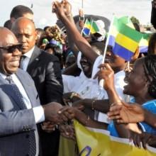 Ali Bongo Ondimba à Franceville