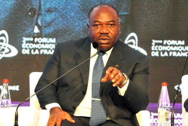 Ali Bongo Ondimba au forum de la Francophonie