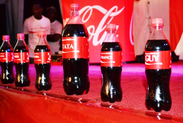 Coca-Cola personnalisé (photo gabonreview)