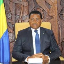 Daniel Ona Ondo lors de la réunion de crise