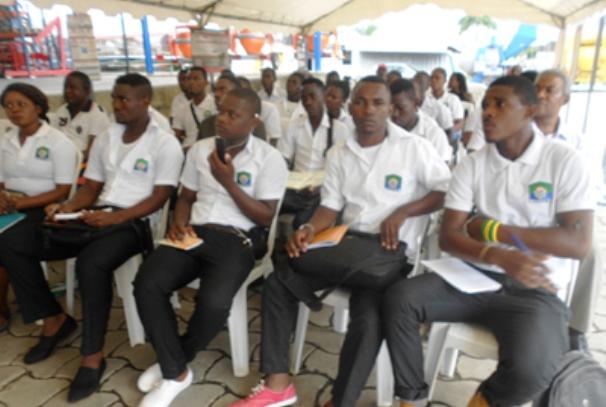 Les élèves gabonais