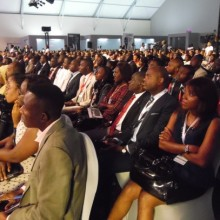 Quelques participants au Forum Citoyen au Gabon