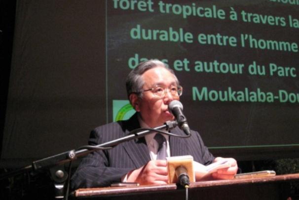 S.E Massaki Sato, Ambassadeur du Japon