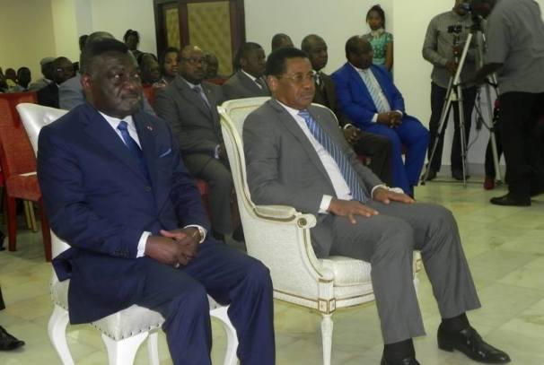Daniel Ona Ondo et Léon Nzouba